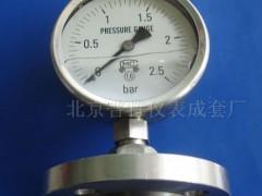 Y-100MF法兰隔膜压力表