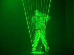 激光机器人 街舞激光舞 最新版双人古筝激光舞视频连接
