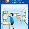 工厂综合安全生产海报漫画标语
