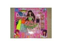 供应芭芘娃娃,揭阳芭芘娃娃,芭比娃娃套装,揭阳艾琪玩具公司