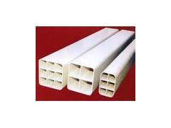 优质PVC四孔格栅管 高品质四孔格栅管