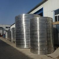 合肥厂家直销定做304不锈钢立式圆形水箱